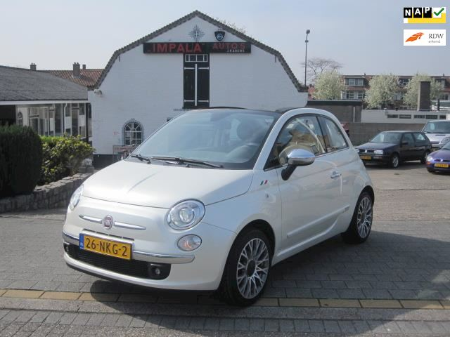 Fiat 500 C 1.2 Lounge Aut/Nap/Leer/Xenon/Clima/Pdc Full Option