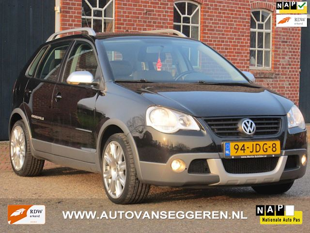 Volkswagen Polo 1.4-16V Cross 80PK/cruise/airco/trekhaak/incl.garantie