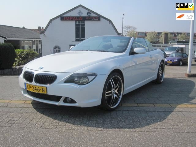 BMW 6-serie Cabrio 650i High Executive Head up M-Style