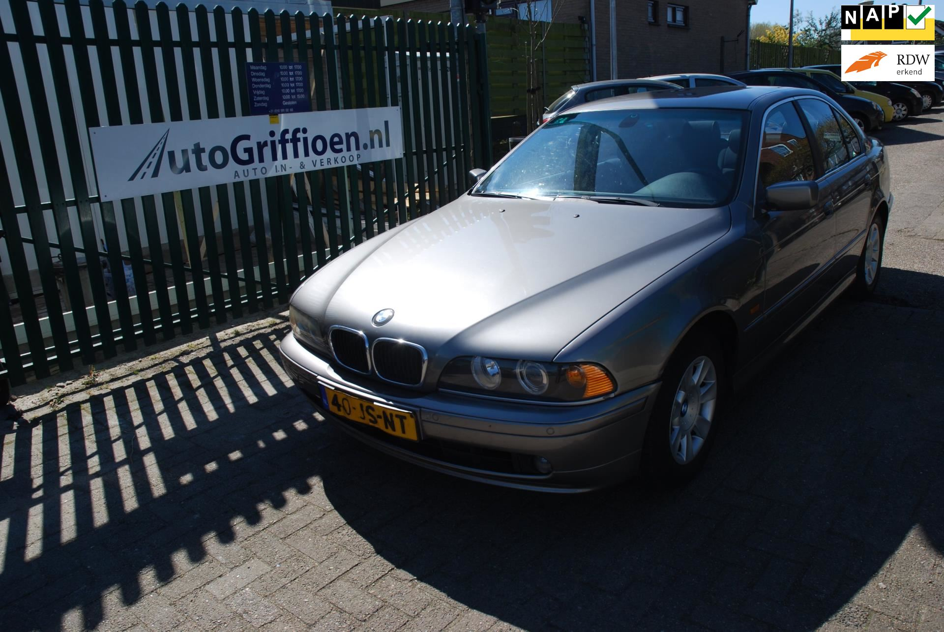 BMW 5-serie occasion - Auto Griffioen B.V.