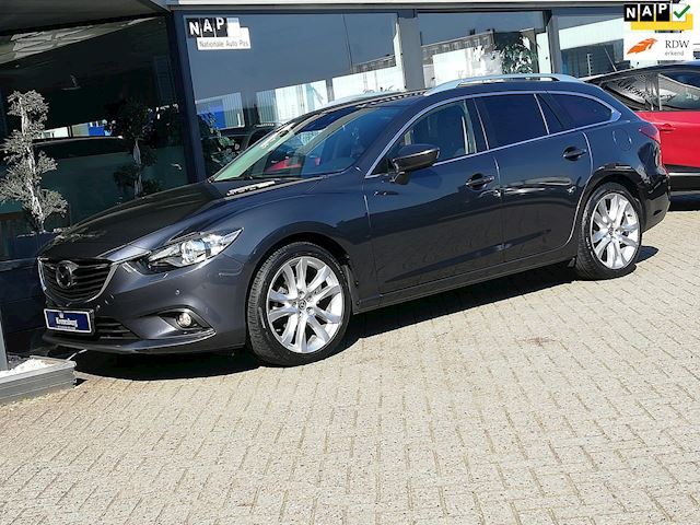Mazda 6 Sportbreak 2.5 GTM (FULL-OPTIONS!! LEDER NAVI TREKHAAK CAMERA PDC V+A)