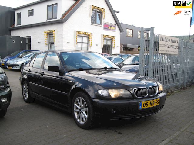 BMW 3-serie 316i Lifestyle Executive navi leer nap apk