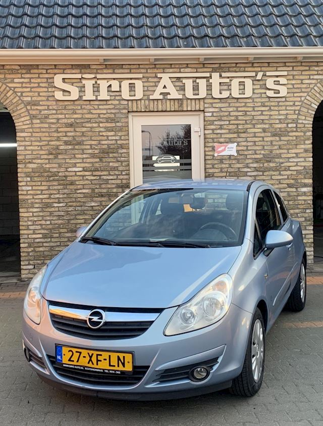 Opel Corsa 1.2-16V Enjoy Bj 2007 Vol Opties zeer nette auto