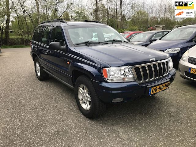 Jeep Grand Cherokee 4.7i V8 Limited automaat, zeer nette Dealer auto