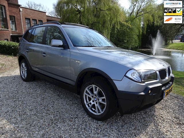 BMW X3 2.5i Executive PANORAMA/leer/AIRCO *apk:07-2019*