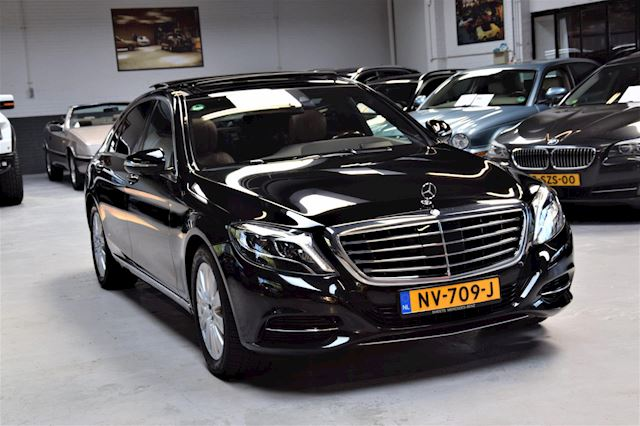Mercedes-Benz S-klasse 350 BlueTEC Lang *Prestige PLus* TV's| Massage-stoelen|360 View|Soft- Close|Night- Vision|Dealer onderhouden