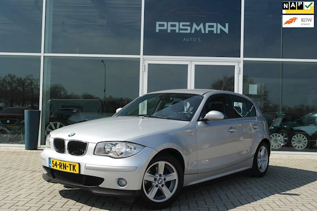 BMW 1-serie 118i High Executive  Clima, 16LM, MF Stuur, VOL