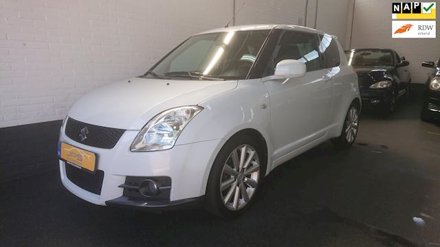 "Suzuki Swift 1.6 Sport Pearly White / Climate / 17"" LM / Key less go"