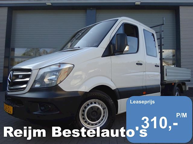 Mercedes-Benz Sprinter 313cdi L2 dc , openlaadbak , pick-up met airco