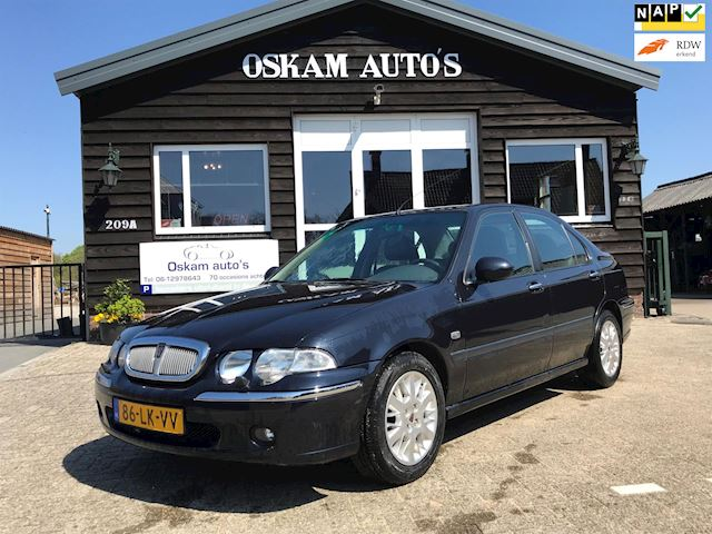 Rover 45 1.6 Sterling Pdc, Airco, volleder.