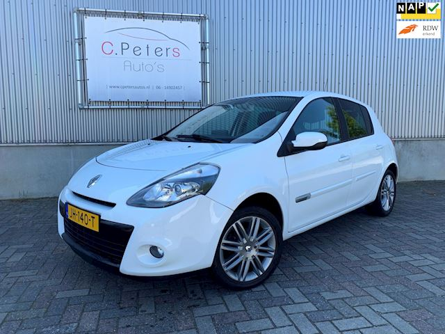 Renault Clio 1.6  Night & Day 2011 / 112pk Automaat / Navigatie / Half Leder / Stoelverwarming / Bluetooth NAP