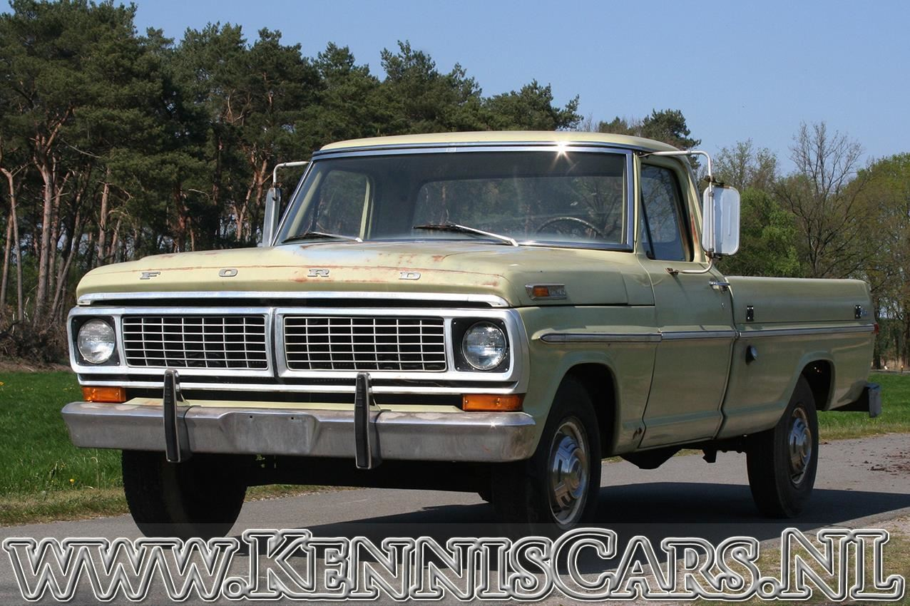Ford 1970 F250 Pick-Up occasion - KennisCars.nl