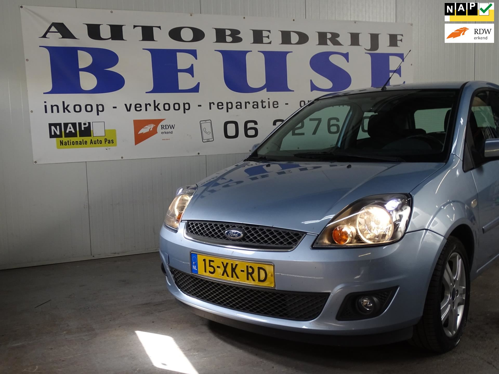 Ford Fiesta occasion - Beuse Auto's