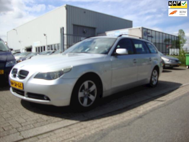 BMW 5-serie Touring 523i High Executive , Comfort stoelen, Navi