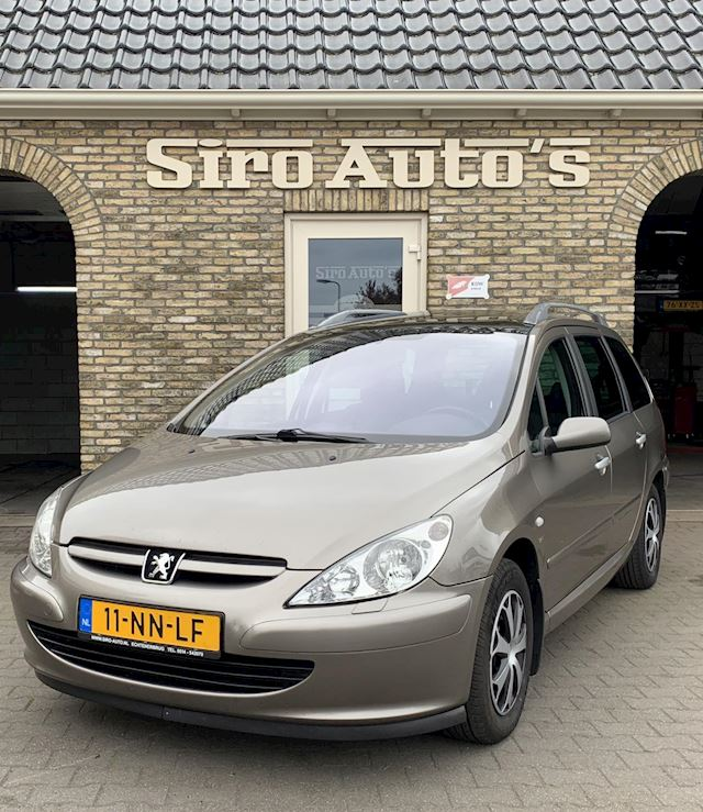 Peugeot 307 SW 2.0 HDi Pack Bj 2004 Panorama dak Vol Leer Trekhaak