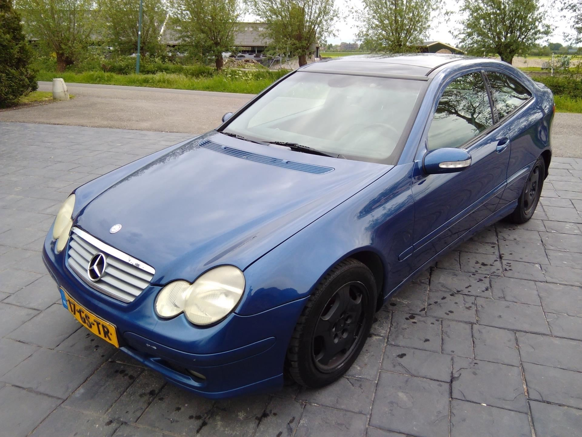 Mercedes-Benz C-klasse Sportcoupé occasion - Autobedrijf Oudewater