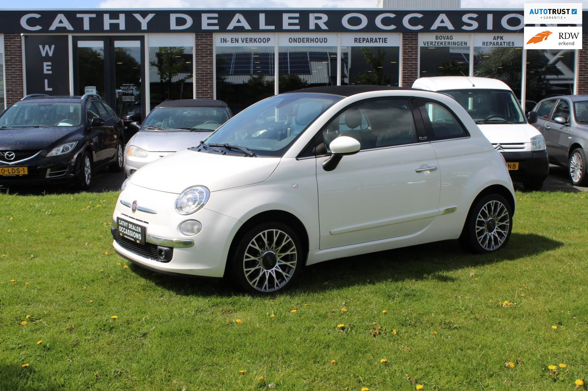 Fiat 500 C occasion - Cathy Dealer Occasions