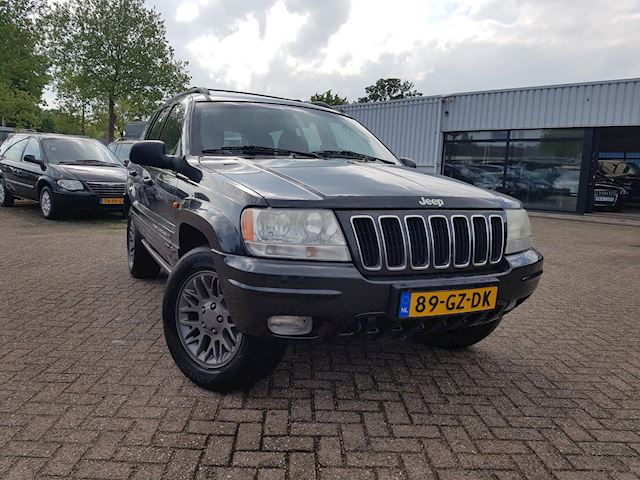 Jeep Grand Cherokee 4.0i Limited Youngtimer aut leer LPG G3