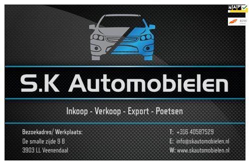 Renault Scénic occasion - S.K Automobielen