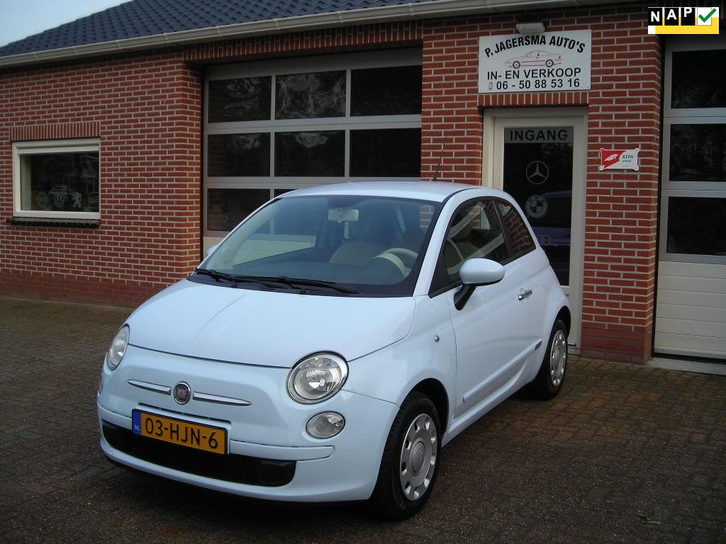 Fiat 500 occasion - Jagersma Auto's