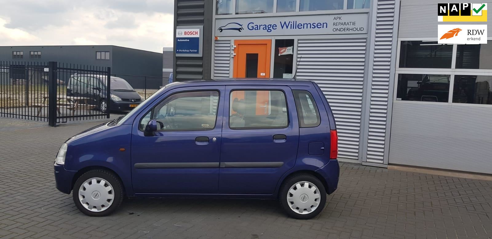 Opel Agila occasion - Garage Willemsen