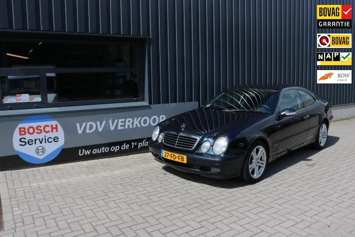 Mercedes-Benz CLK-klasse Coupé occasion - VDV Automotive BV