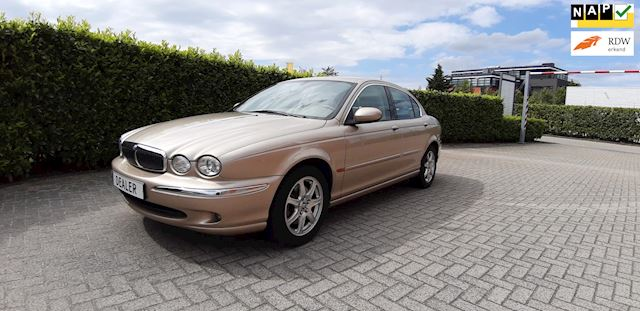 Jaguar X-type 2.0 V6 Executive 36000km Navi Leder Youngtimer Uniek!!