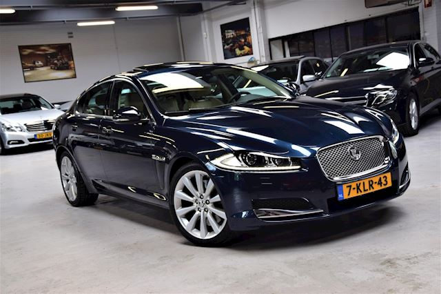 Jaguar XF 3.0 V6 Premium Business Edition Navi|Facelift|Org.NL|Dealer onderhouden|2e Eig.|340PK!!