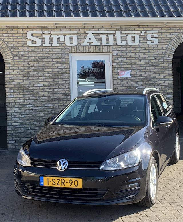 Volkswagen Golf Variant 1.6 TDI Comfortline Bj 2014 Vol Opties Inc BTW