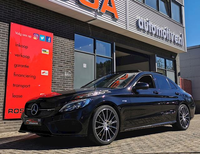 Mercedes-Benz C-klasse C43 AMG / PANO / HEAD-UP/ BURMESTER /360°CAMERA / 9-GTRONIC INC. BTW garantie