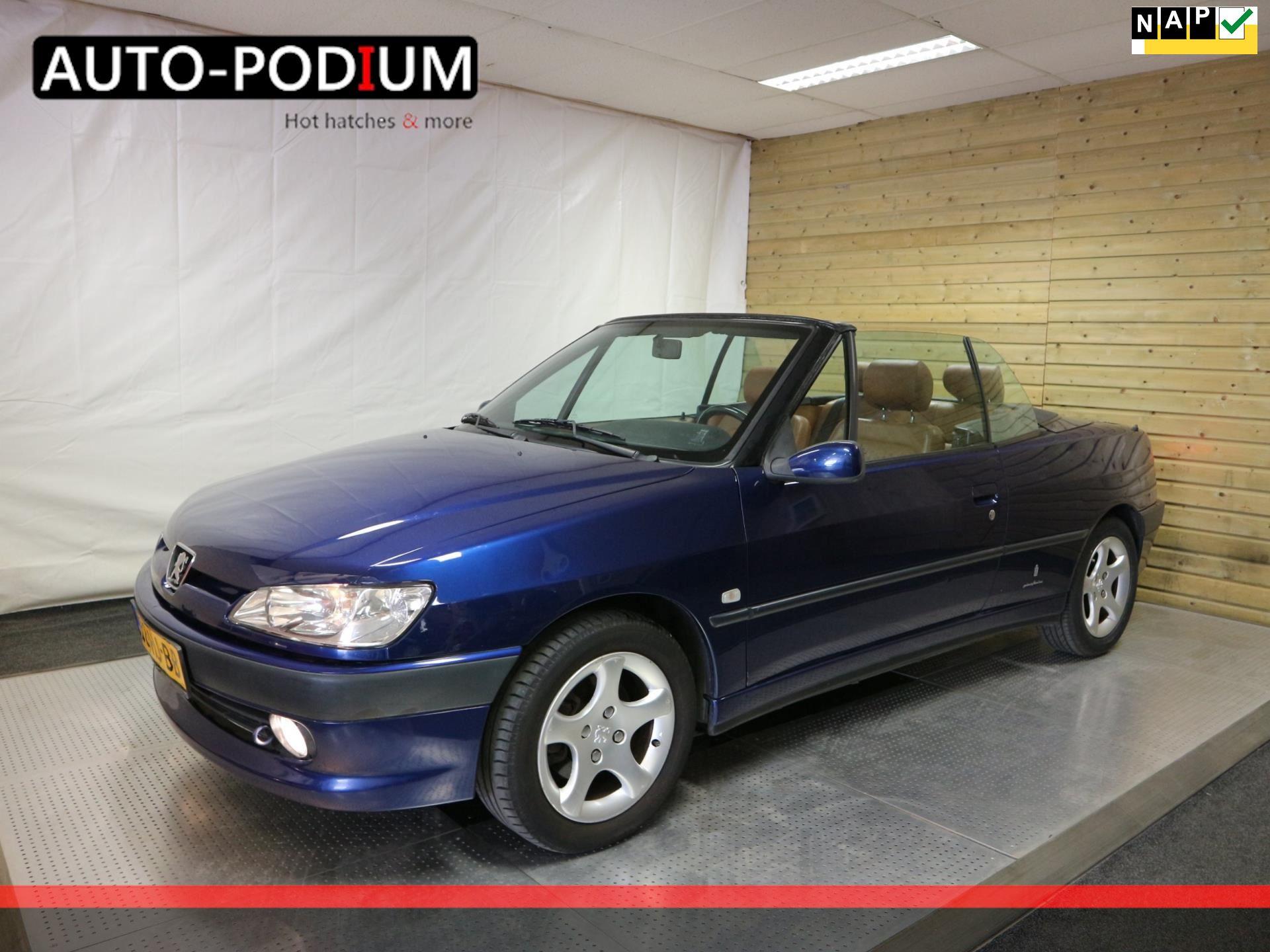 Peugeot 306 Cabriolet 1.8 16v occasion - Auto-Podium