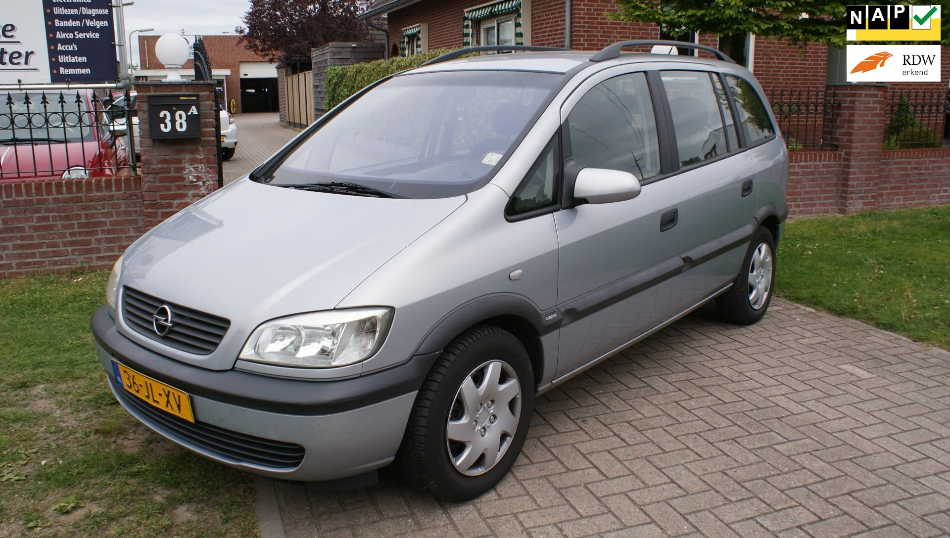 Opel Zafira occasion - Autoservice Wachtmeester
