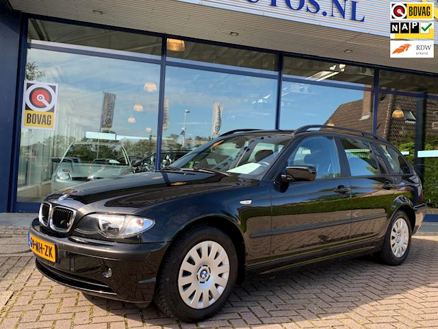 BMW 3-serie 318i Lifestyle Executive NL-Auto NAP Leer Clima Cruise PDC Nette staat!