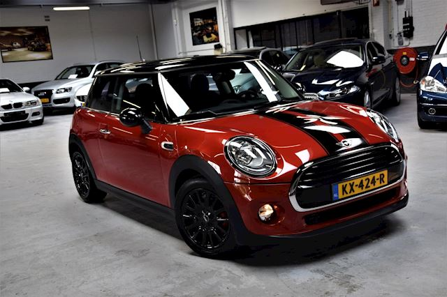 Mini Mini 1.5 Cooper Pepper Serious Business *29000km*Navi|Sportstoelen|Half/ Leder|Dealer onderhouden.