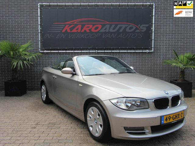 BMW 1-serie Cabrio 125i High Executive Leer Navi Cruise Pdc