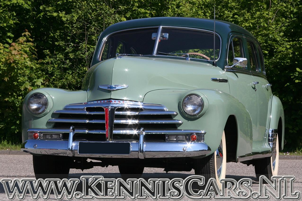 Chevrolet 1948 Fleetmaster occasion - KennisCars.nl
