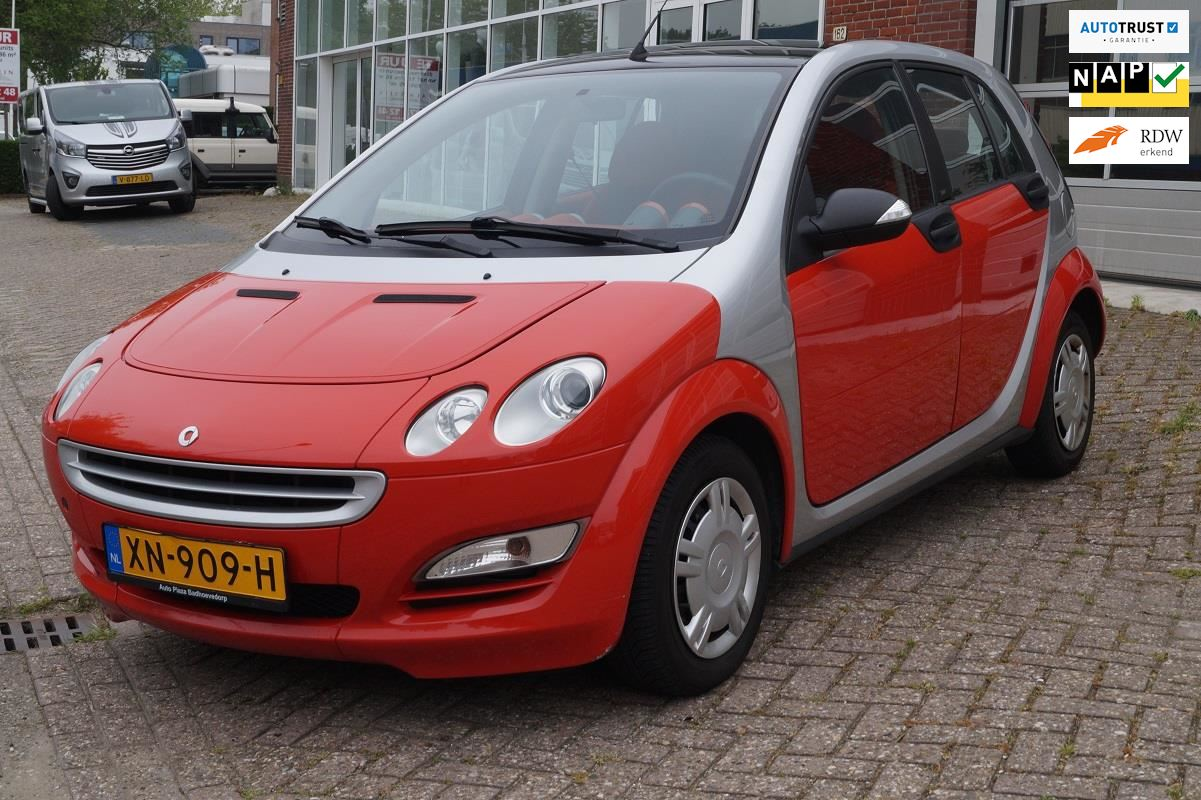 Smart Forfour occasion - Auto Plaza Badhoevedorp