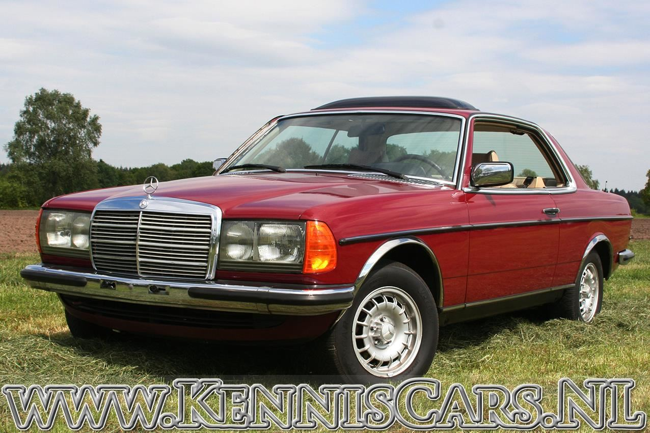 Mercedes-Benz 1978 230 CE Odo 115.476 km  Coupe 123-serie occasion - KennisCars.nl