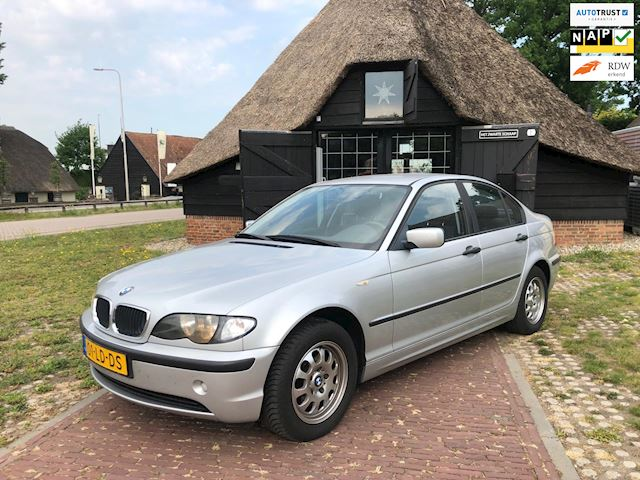 BMW 3-serie 316i Black & Silver in nette staat!