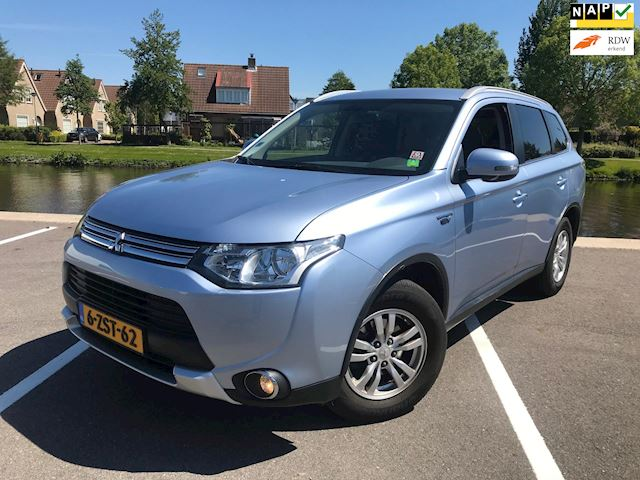 Mitsubishi Outlander 2.0 PHEV Business Edition X-Line 7%