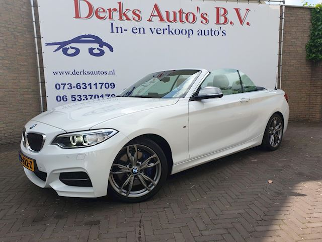 BMW 2-serie Cabrio M235i High Executive M PAKKET