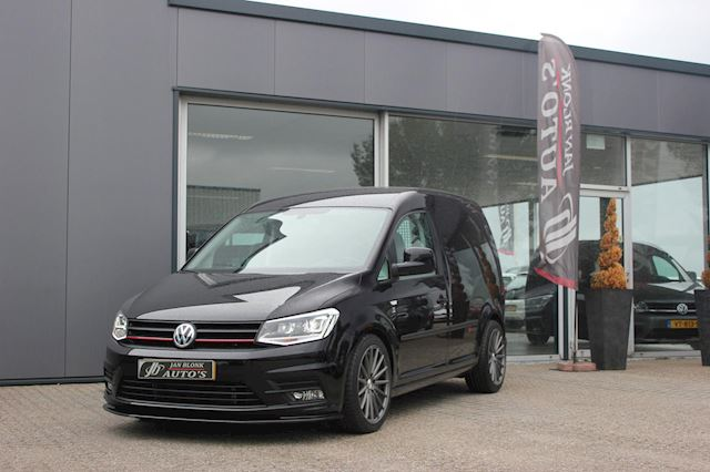 Volkswagen Caddy 2.0 TDI L1H1 BMT Exclusive Edition 180PK / SCHROEFSET / LEDEREN BEKLEDING / LED XENON / NEW