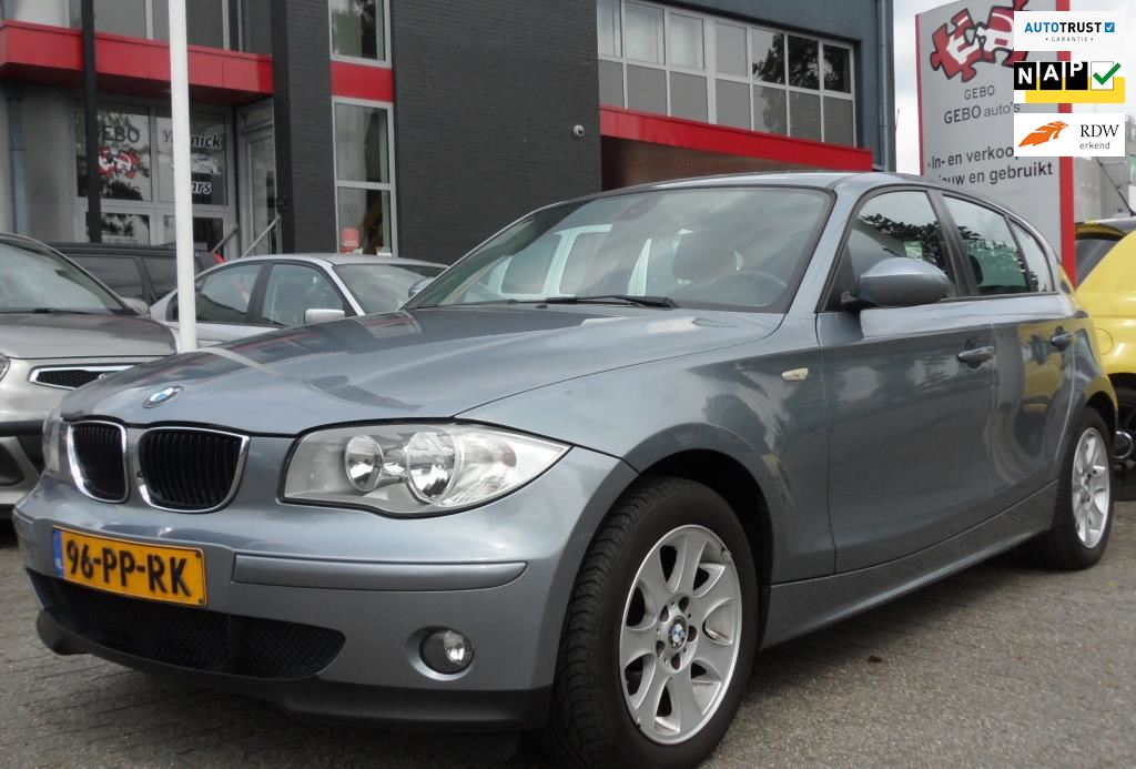 BMW 1-serie occasion - Gebo Auto's