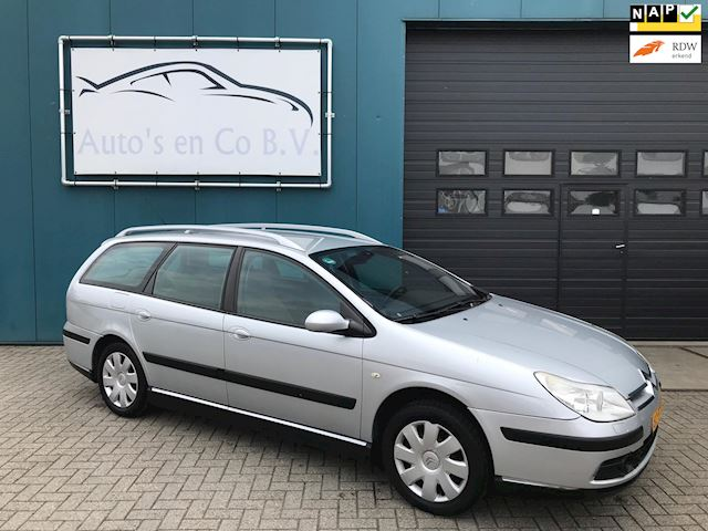 Citroen C5 Break 2.0-16V Ligne Prestige Facelift model VERKOCHT.