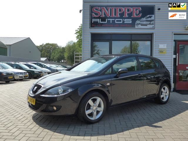 Seat Leon 1.9 TDI Ecomotive Active Style -AIRCO-CRUISE-LMV-PRIVACY GLASS-