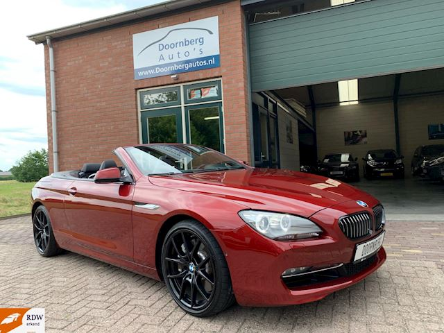 BMW 6-serie Cabrio 650i High Executive 408PK