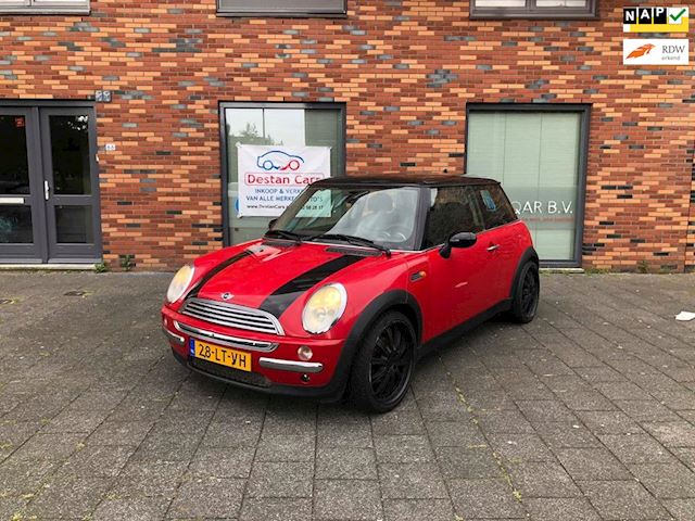 Mini Mini 1.6 Cooper Pepper BAKPROBLEEM