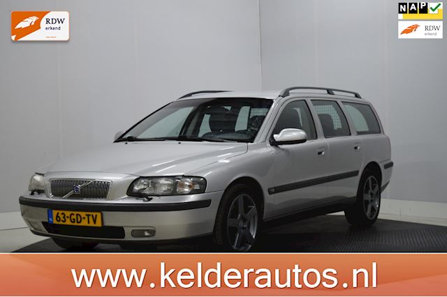 Volvo V70 2.4 T Geartronic Automaat, Clima, Leer, Keurige auto