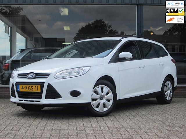 Ford Focus Wagon 1.0 EcoBoost Lease Trend Airco/PDC/Trekhaak/MTF-stuur! Dealer OH/Topstaat