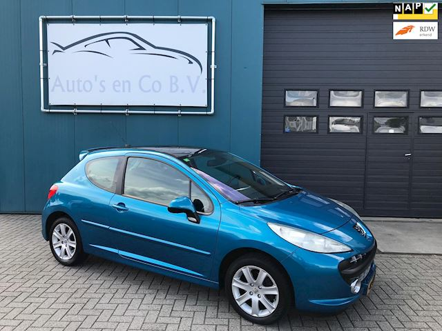 "Peugeot 207 1.6-16V XS Pack Climate contr Panoramadak 16"" NL Auto NAP Incl nw Apk 06-2020"